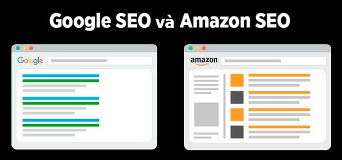 So sánh SEO Google và SEO Amazon